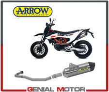 Scarico Completo Arrow Racing Allum Race Fond Carboni Ktm 690 SMC R 2019