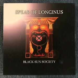 "Spear of Longinus - Black Sun Society VWR012 2004 7"" Box Set with Stickers"