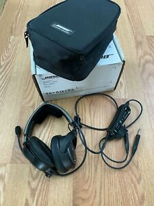 Bose A20 Aviation Headset with Bluetooth, under warranty, fresh Bose rebuild