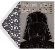 The Fatherhood is Strong With This One PAPYRUS Darth Vader FATHER'S DAY CARD $10
