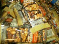 100 ASSORTED ATKINS  HARVEST TRAIL  LOW CARB BARS  L@@k NO RESERVE  LOW SHIPPING