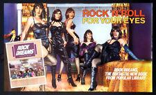 ROCK DREAMS ROLLING STONES IN DRAG GUY PEELLAERT ART 1973 BOOK PROMO POSTER