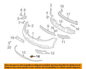 KIA OEM 12-18 Rio Rear Bumper-Bumper Cover U-nut 1335705037B