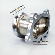 """For GT25 GT28 T25 T28 Turbo Down Pipe 5 bolt  to 2.5"""" 63mm V band Flange Adapter"""