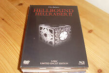 Hellraiser 2: Hellbound (Lim. White or Black Edition) (Uncut) (DVD + BLURAY)