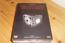 Hellraiser 2: Hellbound (Lim. White or Black Edition) (Uncut) (DVD + BLURAY)