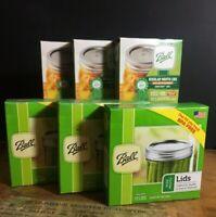 Ball Mason Canning Lids Regular or Wide Mouth 12 NEW Lids BPA Free You Pick Size