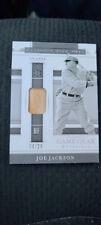 Joe Jackson 2020 National Treasures Barnstorming Tour Used Bat Relic #04/25.