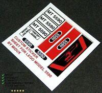 Lego Custom Precut Stickers for Forestmen /& Wolfpack rump