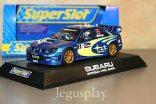 "Slot SCX Scalextric Superslot H2749 Subaru Impreza WRC Works 2006 ""Solberg""- New"