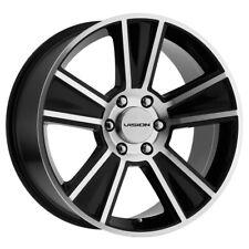 "Vision V223 Stunner 20x9 6x135 +30mm Black/Machined Wheel Rim 20"" Inch"