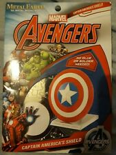 Avengers Metal Earth Captain America's Shield