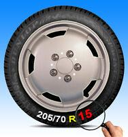 """Peugeot Boxer Wheel Trims 15"""" 15 Inch Motorhome Van Hub Caps X4 Deep Dish Trim"""