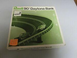 Used Vintage 1967 Revell 1/32 Scale Slot Car 90 Degree Daytona Bank Set Complete