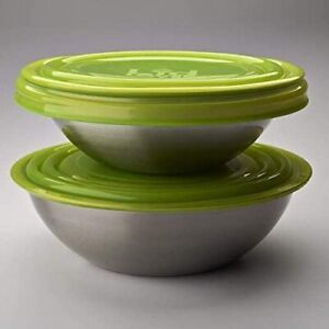 """LidLover Silicone Food Twin Pack,7"""" and 9"""", Cover Lids for Salad Bowls,BOWLS"""