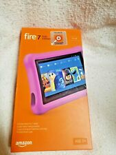 """Fire 7 Kids Edition Tablet, 7"""" Display, 16 GB, Pink Kid-Proof Case - (Previous G"""