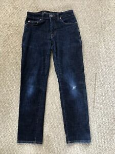 Mens American Eagle Next Level Flex Slim Straight Ripped Jeans Size 26 X 28