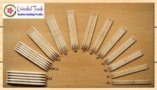 """5"""" Double Point Bamboo Knitting Needles 12 Sets of 5 Pieces per Set (60"""