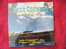 V.A. - Free Country - Songs von Freiheit und Abenteuer  Orig. K-tel  LP OVP  NEU