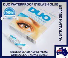 2x DUO Waterproof Eyelash Glue False Eyelash Adhesive, White Dries Invisibly