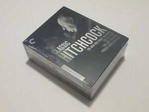 Classic Hitchcock - The Criterion Collection 4-Disc Blu-Ray Box Set RARE OOP