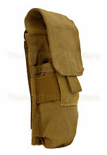 M4 SINGLE MAG POUCH Eagle Industries COYOTE BROWN 1x2 Holds 2 Magazines EIUI VGC