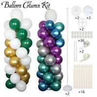 63 Inch Balloon Arch Column Kit with Base Stand Balloon Garland Events Supply