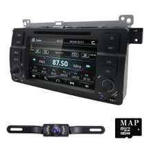 "HEAD UNIT 7""U CAR RADIO DVD CD PLAYER GPS BLUETOOTH TOUCH USB/SD FOR BMW E46 M3"
