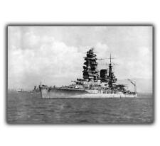 "War WW2 Photo Japanese Battleship ""Nagato"" 1944  Glossy ""4 x 6"" inch J"