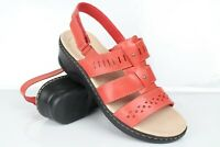 Clarks Women's Lexi Qwin Sandals Comfort Slingback Coral