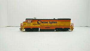 Bachmann HO Train Chessie System U-36-B Powered Diesel Locomotive