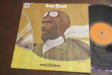 THELONIOUS MONK Solo Monk CBS Vinyl LP EX Piano England Import 1969 Original