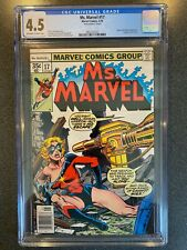 Ms Marvel No.17 CGC 4.5 (Marvel, 1978) 1st Mystique Appearance in Cameo