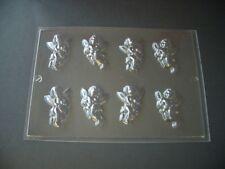8 on 1 CHERUB CHOCOLATE MOULD/MOULDS/VALENTINE/LOVE/ENGAGEMENT/WEDDING FAVOUR