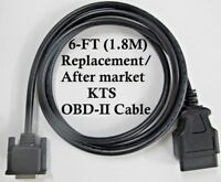 6FT OBDII OBD2 Cable for Bosch KTS 200 / 340 / 515 / 525 / 530 / 540 / 570 / 670