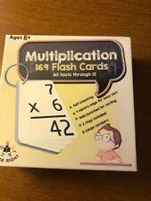 Homeschool Education Star Right MULTIPLICATION 169 FLASH CARDS