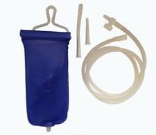 Bock à Lavement 1 sac de 2 litres Réutilisable Kit Douche Bain Usage Domestique