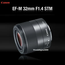 Canon EF-M 32mm F1.4 STM Camera Lens For  CANON Mirrorless M10 M3 M5 M6 M50