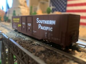 N Scale Concor 60' N Greenville Boxcar SOUTHERN PACIFIC well detailed NEW IN BOX