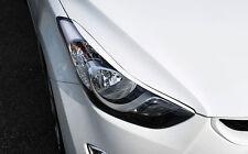 Eyebrow Headlight Eyelid PAINTED Blue S7U For 11-13 Hyundai Elantra : Avante MD