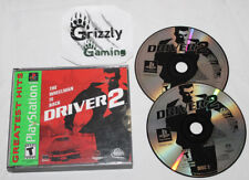 USED Driver 2 PlayStation One PSX/PS1 (NTSC) Tested and Working!!