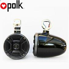 "Angle Free Mountable Wakeboard Speaker Polk 6.5"" Marine Speaker Black defect"