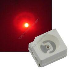 10x Led CMS SMD 3528 Rouge à souder PLCC-2 - red 3528 smd haute luminosité