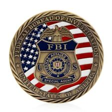US FBI Saint Michael Commemorative Challenge Coins Collection Token Craft Gift