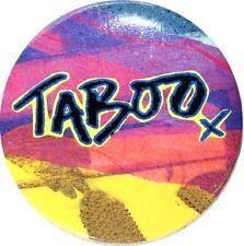 TABOO BROADWAY SOUVENIR BUTTON - BOY GEORGE