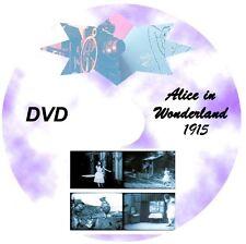 ALICE IN WONDERLAND 1915 * Silent Film * DVD * 1915