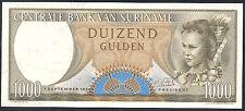 SURINAME   1000  GULDEN  1963    P 124  Uncirculated Banknotes