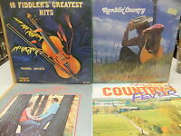 V/A Country LP LOT Johnny Cash, Merle Haggard, George Jones, Conway Twitty