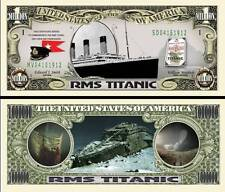 TITANIC BILLET MILLION de DOLLAR ! Collection Film Photo Paquebot Naufrage Epave