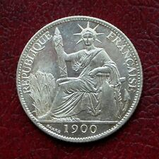 French Indo China 1900 silver 20 cents